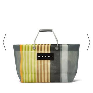 Marni - 新品!タグ付き!マルニマーケット ストライプバッグ トートバッグ