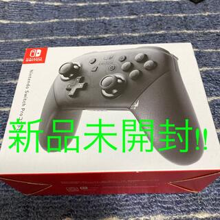 ニンテンドースイッチ(Nintendo Switch)の任天堂Switchプロコントローラー純正(家庭用ゲーム機本体)