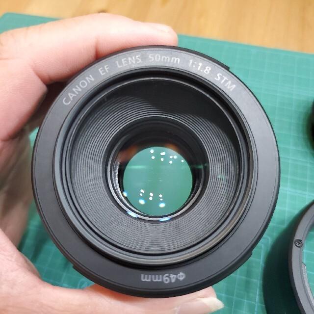 CANON EF LENS 50mm f1.8 STM スマホ/家電/カメラのカメラ(レンズ(単焦点))の商品写真