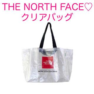 ザノースフェイス(THE NORTH FACE)のTHE NORTH FACE★クリアバッグ★新品(エコバッグ)