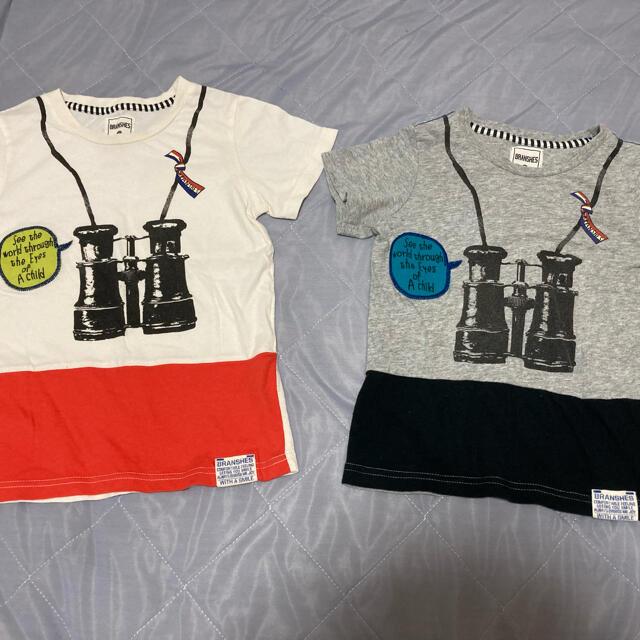 Branshes(ブランシェス)のブランシェス お揃い Tシャツ 110 120 セット キッズ/ベビー/マタニティのキッズ服男の子用(90cm~)(Tシャツ/カットソー)の商品写真