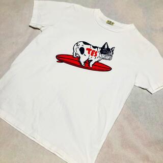 Ron Herman - TES エンドレスサマー BUHIプリントTシャツ M