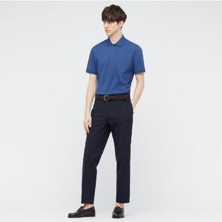 ユニクロ(UNIQLO)のユニクロ ドライカノコポロシャツ ブルー 68(ポロシャツ)