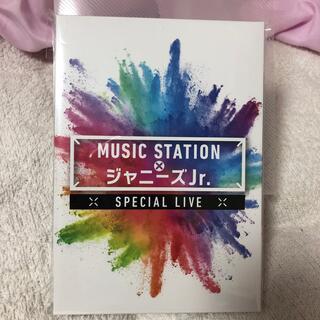 ジャニーズジュニア(ジャニーズJr.)のMUSICSTATION × ジャニーズJr SPECIAL LIVE DVD(アイドル)