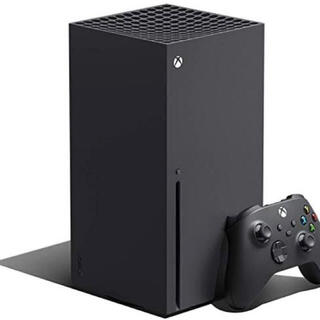 エックスボックス(Xbox)の【新品未開封】Xbox Series X 本体 国内版 Microsoft(家庭用ゲーム機本体)