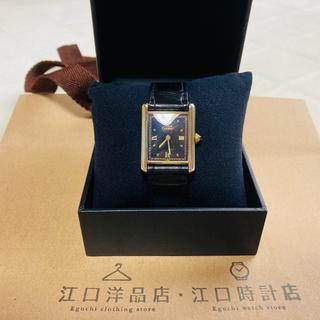カルティエ(Cartier)のCartier カルティエ マストタンク ローマンオニキス(腕時計(アナログ))