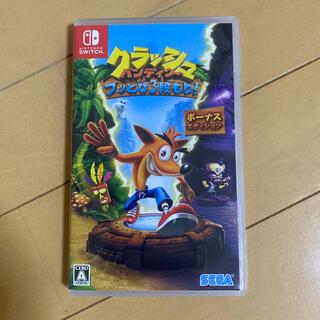 Nintendo Switch - クラッシュ・バンディクー ブッとび3段もり! ボーナスエディション switch