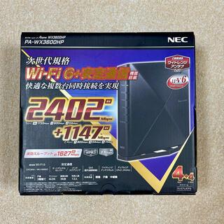 NEC - NEC PA-WX3600HP WiFi6無線LANルータ