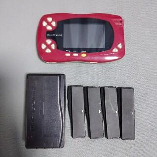 バンダイ(BANDAI)のスワンクリスタル本体セット(携帯用ゲーム機本体)