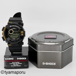 ジーショック(G-SHOCK)のベルベゼ新品ゴールドブラックMIB2フロッグマンDW-8200黒金仕様(腕時計(デジタル))