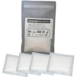 高性能乾燥剤 ウルトラドライ 14g 4個入 防カビ 防湿 防錆(防湿庫)