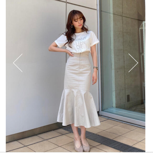 rienda(リエンダ)のrienda♡ バックレースアップマーメイドH/W SK レディースのスカート(ロングスカート)の商品写真