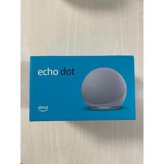 【新品】Echo Dot 第4世代  with Alexa グレーシャーホワイト(スピーカー)