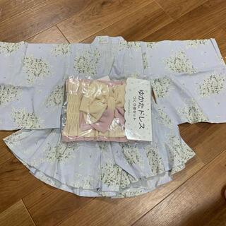mamaraku ママラク 浴衣ドレス ゆかたドレス(甚平/浴衣)