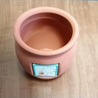 クマノプーサン(くまのプーさん)の加藤工芸 くまのプーさん ミニ素焼き鉢 テラコッタ ディズニー(キャラクターグッズ)