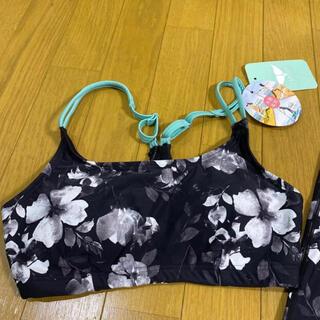 新品¥5800 SPOUT 水陸両用 ハイビスカス 花柄 ブラトップ Sサイズ(トレーニング用品)