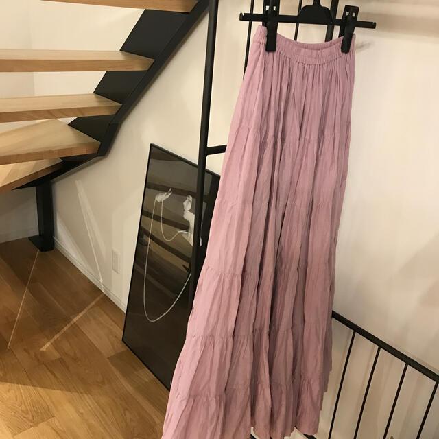 Noble(ノーブル)のMARIHA  ラベンダー色 草原の虹のスカート  レディースのスカート(ロングスカート)の商品写真