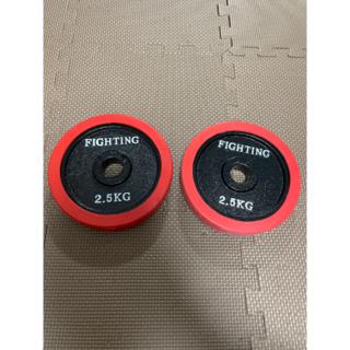 ファイティングロード ラバープレート 2.5kg 2枚(トレーニング用品)
