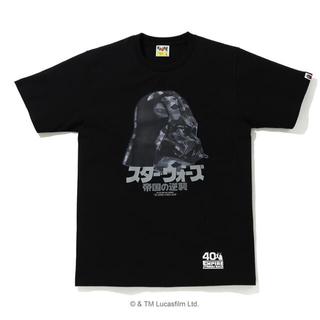 A BATHING APE - STAR WARS X A BATHING APE  ダースベイダーTシャツ