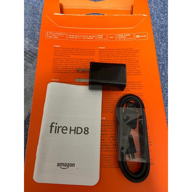 ANDROID(アンドロイド)のAmazon Fire HD 8 16GB アマゾン タブレット スマホ/家電/カメラのPC/タブレット(タブレット)の商品写真