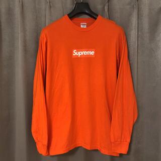 シュプリーム(Supreme)のsupreme Box Logo L/S Tee 20aw(Tシャツ/カットソー(七分/長袖))