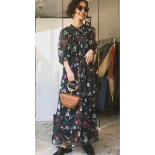アメリヴィンテージ(Ameri VINTAGE)のAmeri Vintage  CHIFFON JACQUARD DRESS(ロングワンピース/マキシワンピース)