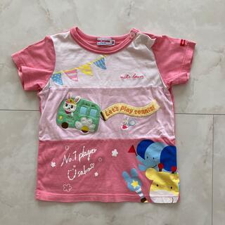 ミキハウス(mikihouse)のミキハウス 女の子90 Tシャツ(Tシャツ/カットソー)