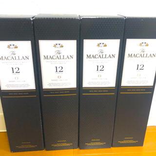 サントリー(サントリー)の最安価 新品未開封 ザ マッカラン 12年 シェリーオーク ウイスキー(ウイスキー)