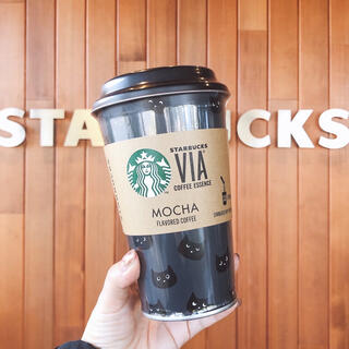 スターバックスコーヒー(Starbucks Coffee)のスターバックス ブラックキャット 缶のみ 黒猫 ヴィアなし 小物入れ ペン立て(小物入れ)