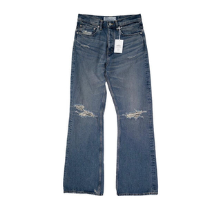 ALLEGE - DAIRIKU 21ss Damage Flare Denim Pants