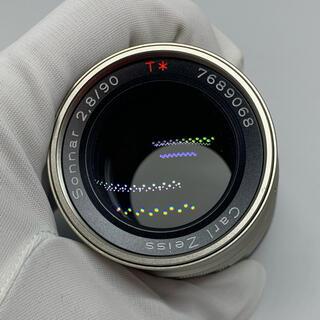 ライカ(LEICA)のCONTAX sonnar 90mm f2.8 コンタックス ゾナー90mm(フィルムカメラ)