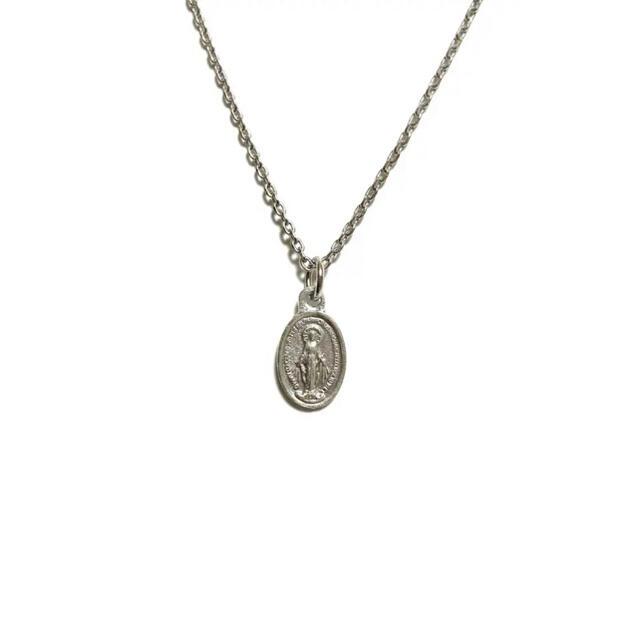 不思議のメダイ 聖母マリア マリア様 ミニ メダイ カトリック 聖品 教会 メンズのアクセサリー(ネックレス)の商品写真