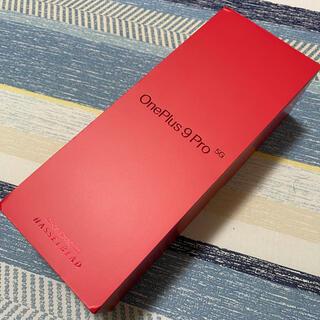 アンドロイド(ANDROID)の【美品】EU版 LE2123 OnePlus9 pro 12GB/256GB(スマートフォン本体)