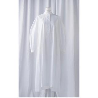 エンフォルド(ENFOLD)のENFOLD shirt dress 新品未使用(ロングワンピース/マキシワンピース)