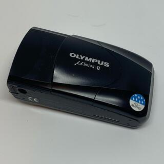オリンパス(OLYMPUS)のオリンパスμ Ⅱ ブラック (フィルムカメラ)
