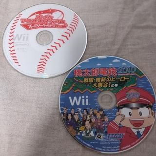 Wii - Wii 桃太郎電鉄2010 & スーパーマリオスタジアム ファミリーベースボール