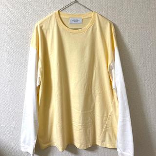 アンユーズド(UNUSED)の美品 UNUSED 21SS ラグランロングスリーブカットソー サイズ3(Tシャツ/カットソー(七分/長袖))