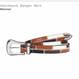 Supreme - Supreme Patchwork Ranger Belt 未開封