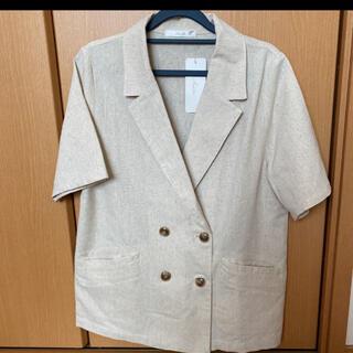 シマムラ(しまむら)のしまむら テーラー ジャケット ハンソデ 半袖(テーラードジャケット)