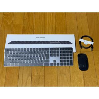 アップル(Apple)のMAGIC KEYBOARD2(JIS) &magic mouse2(PC周辺機器)