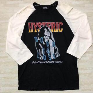 HYSTERIC GLAMOUR - ヒステリックグラマー  7分丈Tシャツ
