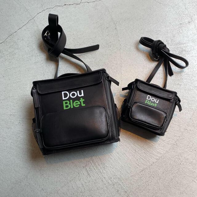"""SUNSEA(サンシー)のdoublet ダブレット SQUARE LEATHER BAG """"XS"""" メンズのバッグ(ショルダーバッグ)の商品写真"""