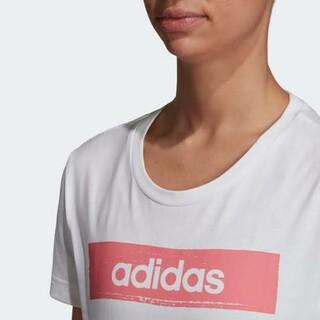 アディダス(adidas)のadidas (アディダス) レディース  ロゴ Tシャツ(Tシャツ(半袖/袖なし))