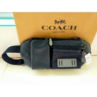 COACH - 【週末セール】COACH レザー ライダー ベルト ボディバッグ ウエストポーチ