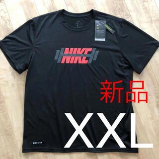 NIKE - ☆新品☆NIKE ナイキ メンズドライフィットTシャツ ブラック XXLサイズ