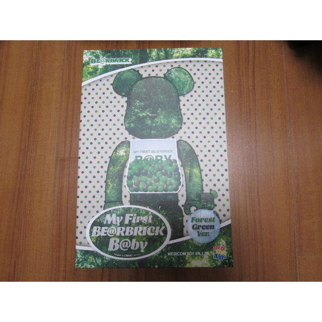 MEDICOM TOY(メディコムトイ)のMY FIRST BE@RBRICK B@BY × FOREST GREEN エンタメ/ホビーのフィギュア(その他)の商品写真