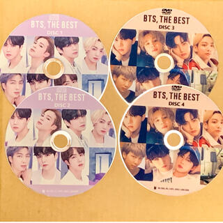 防弾少年団(BTS) - BTS THE BEST ○4枚組(2CD+2DVD)○