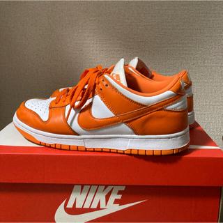 NIKE - Nike dunk low orange blaze syracuce 27.5