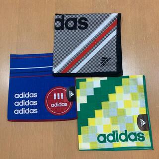 アディダス(adidas)のadidas ハンカチ3枚セット ③(ハンカチ/ポケットチーフ)