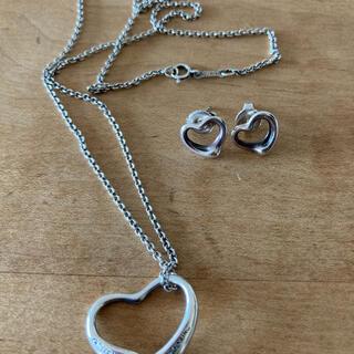 Tiffany & Co. - ティファニーのネックレスとピアス
